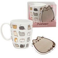 Pusheen the Cat: Kitties Mug and Coaster Set