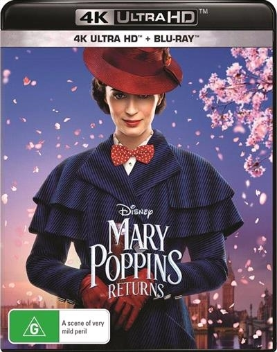 Mary Poppins Returns on Blu-ray, UHD Blu-ray