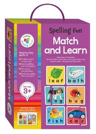 Hinkler: Spelling Fun - Match & Learn Cards