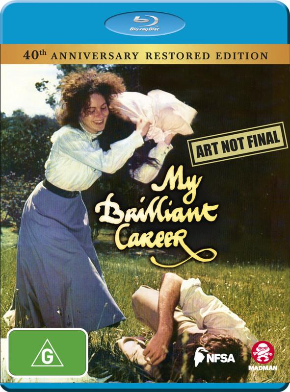 My Brilliant Career (40th Anniversary) on Blu-ray