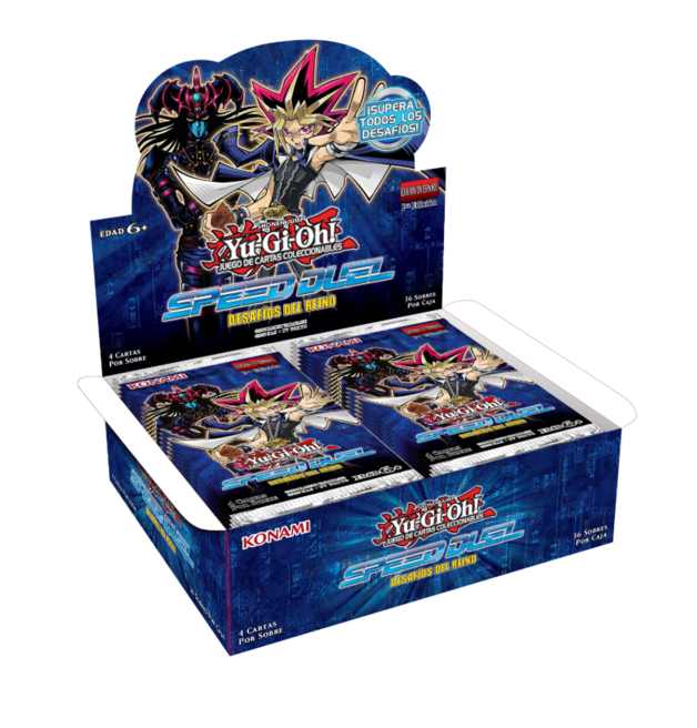 Yu-Gi-Oh! Speed Duel Trials of the Kingdom Booster Box