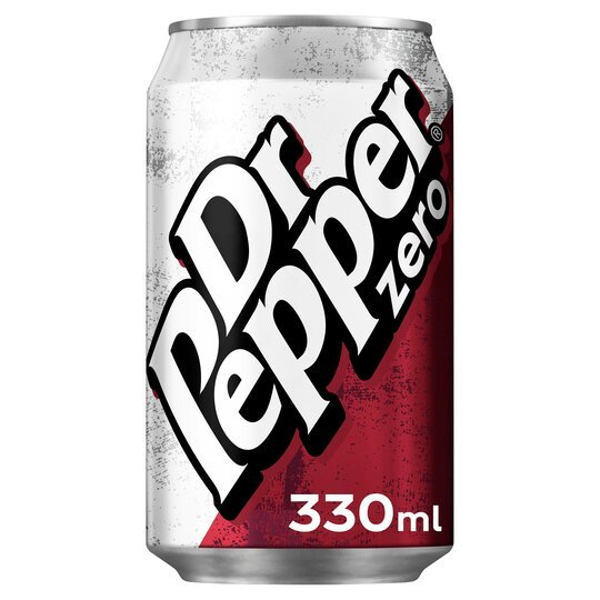 Dr. Pepper Zero Cans (330ml)