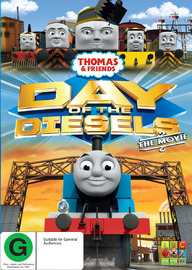 Thomas & Friends: Day of the Diesels on DVD