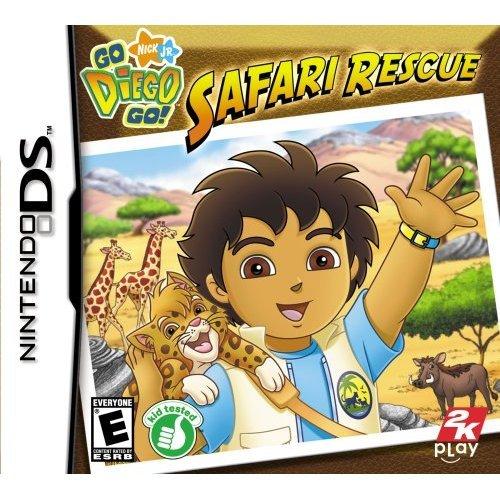 Go Diego Go!: Safari Rescue for Nintendo DS