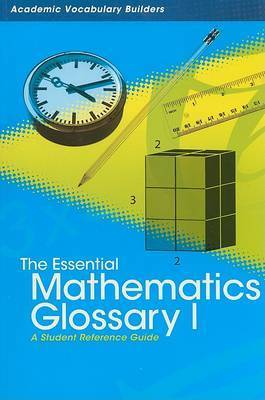 Essential Mathematics Glossary 1 by Red Brick Learning