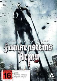 Frankenstein's Army on DVD