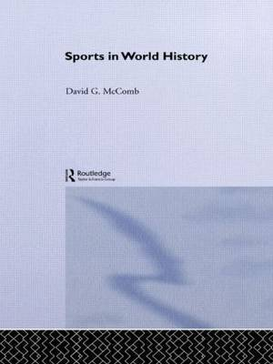 Sports in World History by David G McComb image