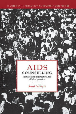 AIDS Counselling by Anssi Perakyla
