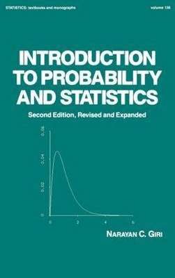 Introduction to Probability and Statistics by Narayan C. Giri image