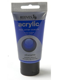 75ml Reeves Fine Acrylic - Ultramarine