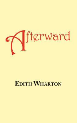 Afterward by Edith Wharton image