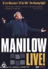 Barry Manilow - Manilow Live on DVD