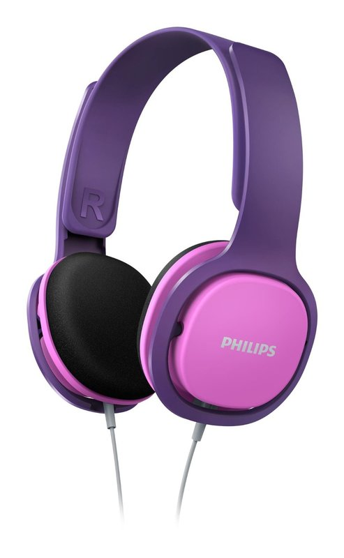 Philips On Ear Kids Headband Headphones (Pink)
