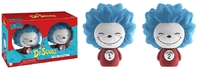 Dr. Seuss - Thing 1 & Thing 2 (Flocked) Dorbz Vinyl 2-Pack