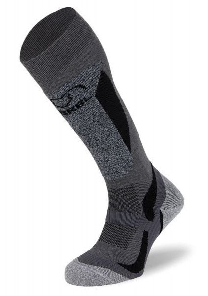 BRBL: Polar Ski Grey Socks (Small)