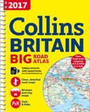 2017 Collins Big Road Atlas Britain by Collins Maps