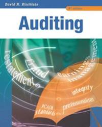 Auditing and Assurance Services by David N. Ricchiute image