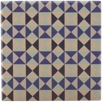 Maxwell & Williams Medina Ceramic Square Tile Coaster - Saidia (9cm)