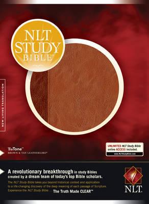 NLT Study Bible TuTone image