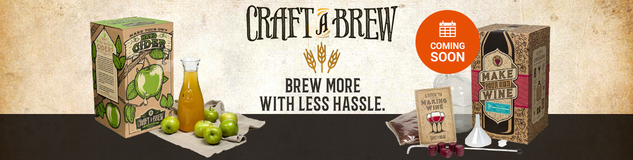 New Craft a Brew range coming soon!