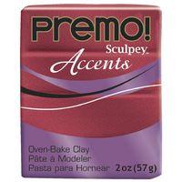 Sculpey Premo Accent Red Glitter (57g)