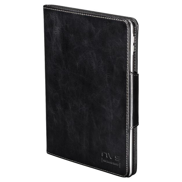 NVS: Premium Leather Folio For iPad Mini 4 (Black/Black)