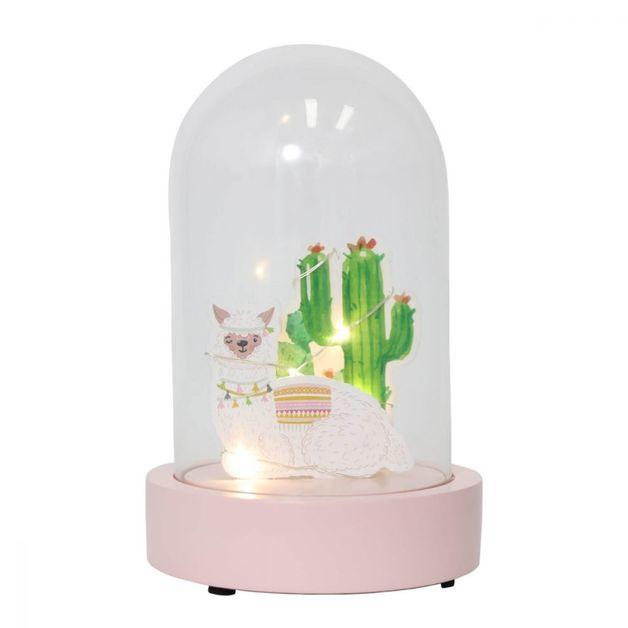 Splosh: Furry Little Friends Light Dome - Llama