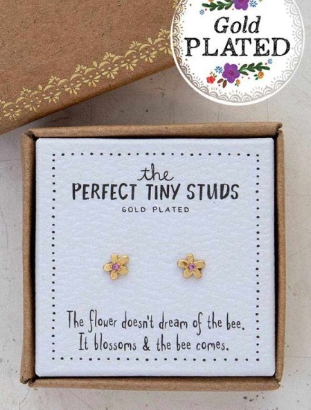 Natural Life: Perfect Tiny Studs - Flower