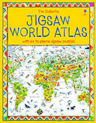 The Usborne Jigsaw World Atlas by Colin King image