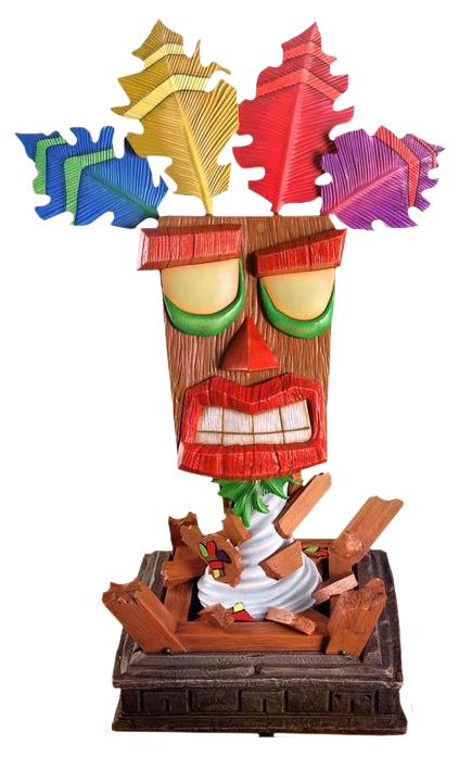 Crash Bandicoot: Aku Aku - 1:1 Replica Mask