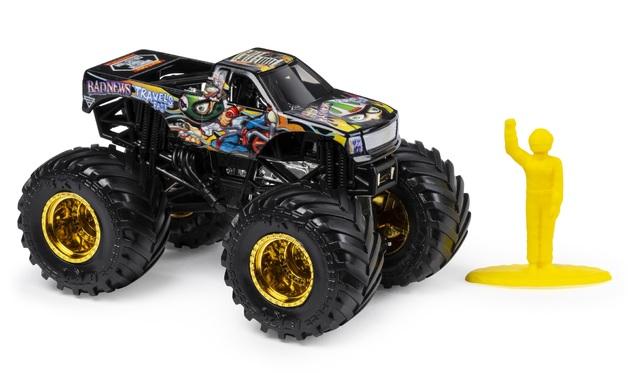 Monster Jam: 1:64 Scale Diecast Truck - Badnews Travels Fast