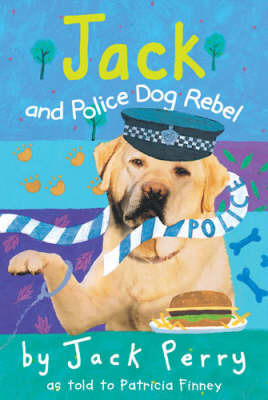 Jack and Police Dog Rebel by Patricia Finney image