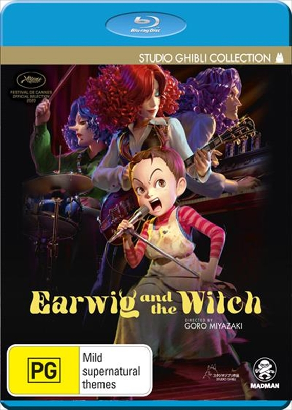 Earwig And The Witch on Blu-ray