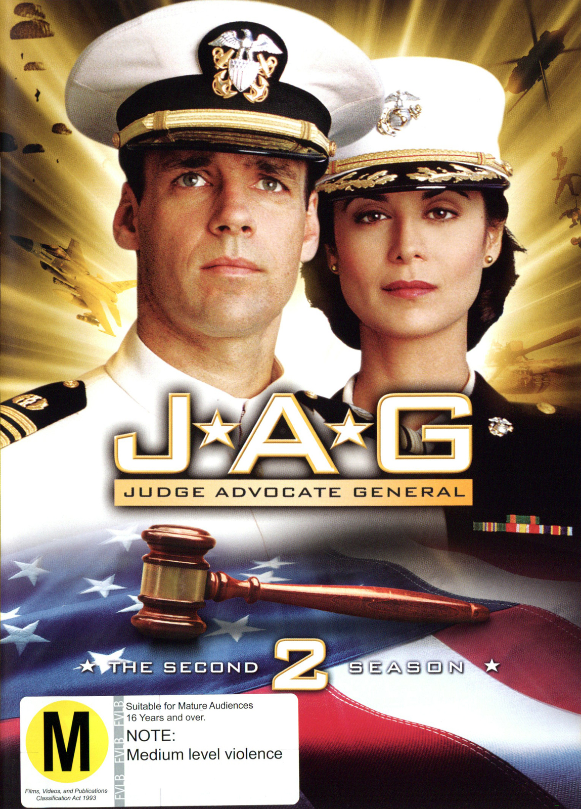 JAG: Judge Advocate General - The 2nd Season on DVD image