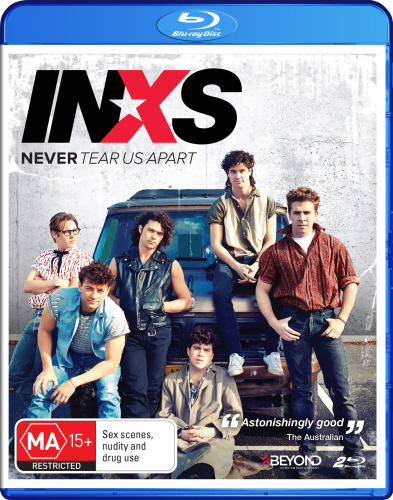 Never Tear Us Apart: The Untold Story Of INXS on Blu-ray image