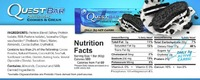 Quest Nutrition Protein Bars - Cookies & Cream (Box of 12) image