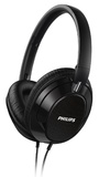 Philips Foldable Over-Ear Headphones (Black)