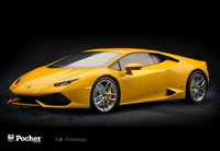 Pocher 1:8 Lamborghini Huracan LP 610-4 - Giallo Midas (pearl effect)