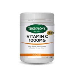 Thompsons Vitamin C Chewable 1000mg (30 Tablets) image