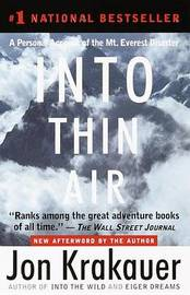 Into Thin Air by Jon Krakauer image