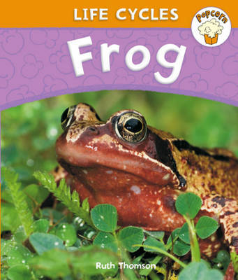 Popcorn: Life Cycles: Frog by Ruth Thomson image