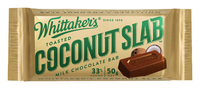 Whittakers Coconut Slab (50g, 50pk)