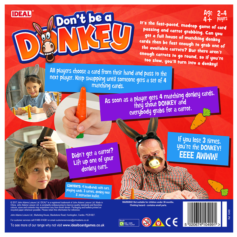 Don't Be A Donkey image