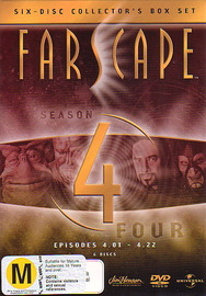 Farscape - Season 4 (6 Disc Box Set) on DVD image
