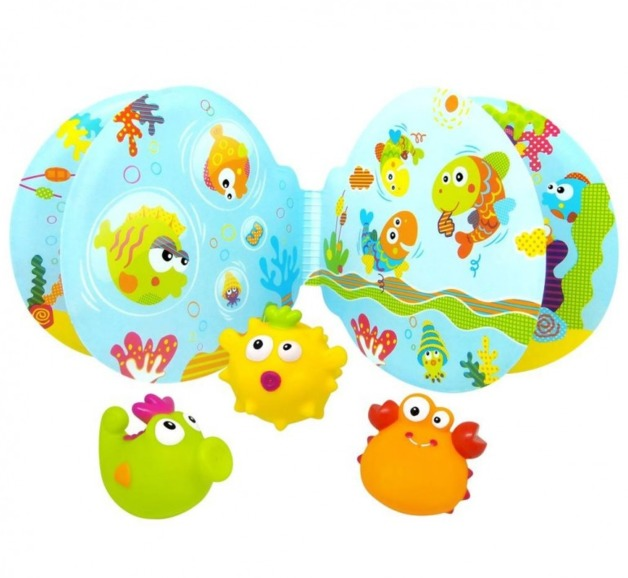 Escabbo: Bath Book with Squirters (Set of 3)