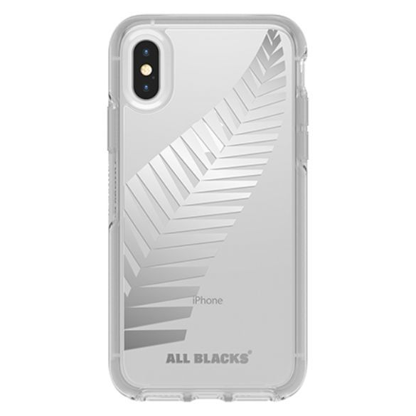 Otterbox: All Blacks Symmetry for iPhone X/Xs - Clear