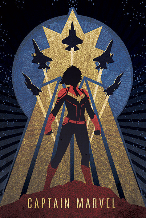 Captain Marvel Maxi Poster (992) image