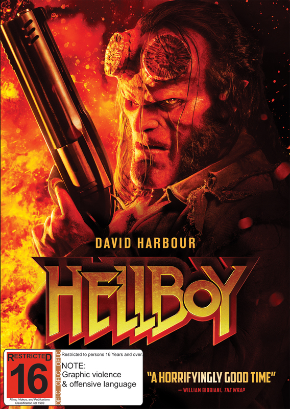 Hellboy on DVD