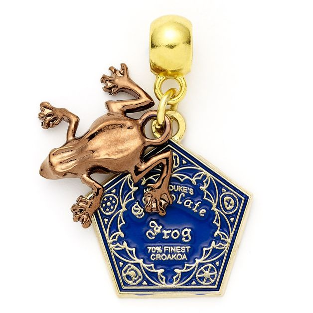 The Carat Shop: Harry Potter Chocolate Frog Slider Charm