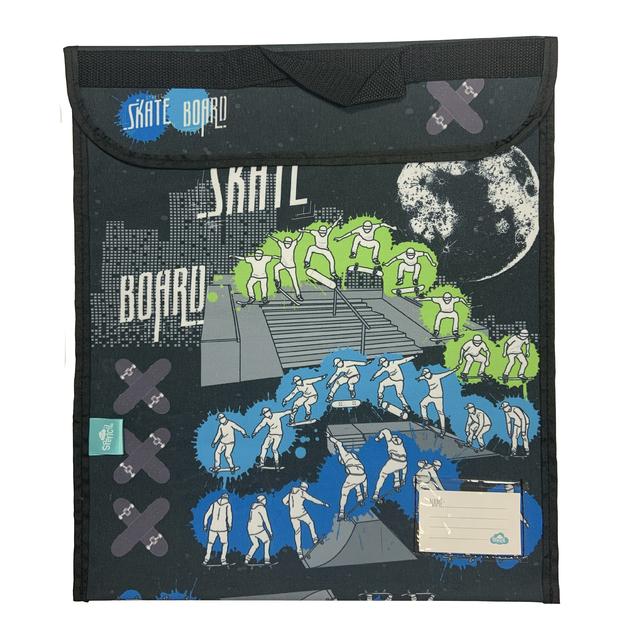 Spencil: Skate Paint Homework Bag